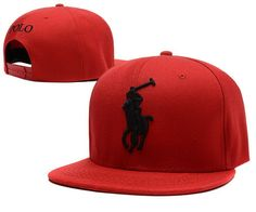 Polo Snapback Hats Red|only US$6.00 - follow me to pick up couopons.