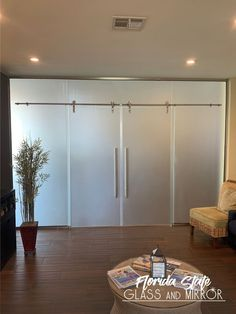 Give privacy to that special place in your office with our Frosted Glass Partition Wall - Barn Door System #frostedglasspartition #officeglass #officeglasspartitions #glasspartitionsystems #glass #glassdoor #officespace #barndoorsystem #glazier #commercialjob #commercialglass #greatjob #glasstech #designer #designers #contractor #contractors #glassandmirrorexperts #glassexperts #floridastateglass Glass Partition, Glass Partition Wall, Glass Installation, Barn Door, Glass Office, Shower Doors, Glass Office Partitions, Glass Top Table, Frameless Shower Doors