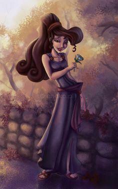 The Art of Disney Disney Pixar, Megara Disney, Film Disney, Arte Disney, Disney Fan Art, Disney And Dreamworks, Disney Girls, Disney Love, Disney Magic