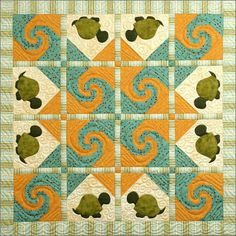 I think some day I'd like to make this quilt... or one equally as cute!