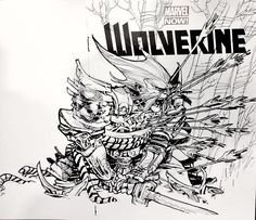 A drawing from 2013 (arguably my skill & craft haven't improved- which is concerning) notable only because this was the first sketch cover I ever drew on that the paper wasn't absolute garbage . . #wolverine #marvel #marvelcomics #sketchcover #art #illustration #ericcanete