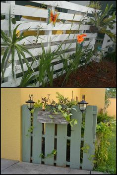 Need to build a fence? Here's an unusual and inexpensive solution - fences made from pallets!