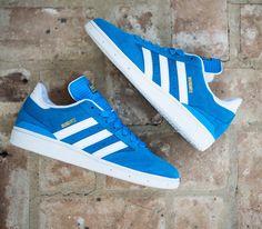 adidas Skateboarding Busenitz-Solar Blue-Running White