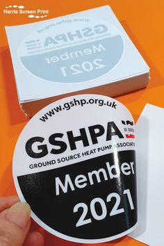 Self adhesive car window stickers printed for GSHPA Membership 2021. You peel away the sticker from the backing sheet, and stick it onto your car windscreen on the inside, design facing outwards. Printed onto removable self-adhesive vinyl, the round full colour car window stickers are ideal for annual membership recognition. Car Window Stickers, Car Stickers, Inside Design, Heat Pump, Rear Window, Adhesive Vinyl, Custom Cars, Sticker Design, Screen Printing