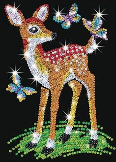 Sequin Art Junior Fawn 0710 KSG | Hobbies
