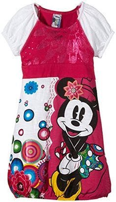 Desigual Girl's Short Sleeve Dress - Pink - Rosa (Fuchsia Rose 3022) - 10 Years Desigual http://www.amazon.co.uk/dp/B00OK7JT0Q/ref=cm_sw_r_pi_dp_8FfUvb014CWC5