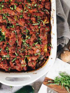 Paleo Zucchini Lasagna (Whole30)