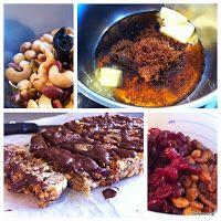 Μπάρες δημητριακών, ξηρών καρπών και φρούτων. Healthy Desserts, Healthy Recipes, Healthy Food, Sunday Breakfast, Protein Bars, Breakfast Recipes, Food Porn, Beef, Fruit