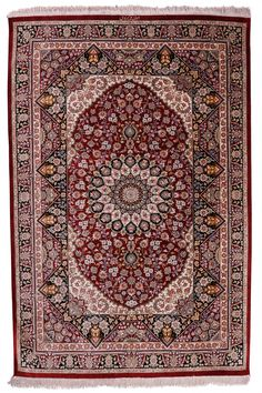 Qum Silk Carpet | Boutique Carpets - Oriental Rugs & Textiles in Cappadocia  GE: New MATERIALS: Pure Silk SIZE: 150 X 100