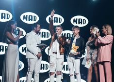 """We won """"Best International act"""" at the Mad TV VMAs in Athens, Greece, yesterday!! Thank you! Could never have done what we do without all…"""