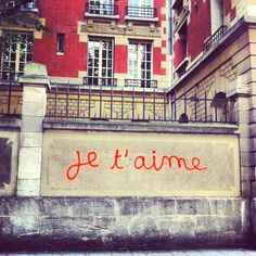 Je t'aime - Paris, rue saint Gilles    (CW11- the start)