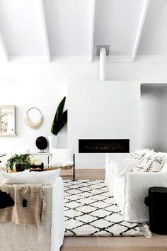 Three Birds Renovations' co-founder Bonnie Hindmarsh opens the doors to her freshly renovated modern-coastal family home with a barn-like feel. Find out all about the renovation process and styling details here.