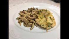 Escalopines con Setas - Chef Stefano Barbato
