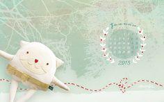 wallpaper_2015_jan_1920_1200 Plush Animals, My Works, December, Textiles, Dolls, Wallpaper, Creative, Blog, Crafts