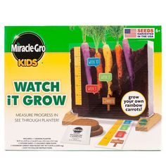 Miracle Gro Kids Watch It Grow Kit - Multi Color : Target Preschool Science, Teaching Science, Science Education, Science For Kids, Science Activities, Science Projects, Summer Activities, Preschool Activities, Science Curriculum