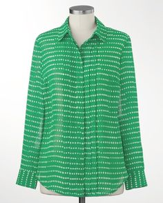 Dashing dots shirt - [K17057]