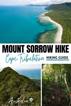Complete guide to reaching one of the best views on offer at the incredible Cape Tribulation in Far North Queensland. The Mount Sorrow hike is a bit more difficult than some of the other short walks, but the views make it unmissable. Coast Australia, Queensland Australia, Australia Travel, Group Travel, New Travel, Travel Advise, Travel Tips, Amazing Destinations, Travel Destinations