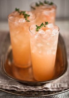 Ruby Red Grapefruit Fizz