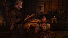 The Witcher: Regis and Zoltan.