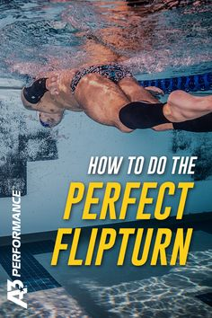The freestyle flip turn is an essential skill if you want to take your swimming to the next level. Swimming Drills, Competitive Swimming, Swimming Tips, Swimming Workouts, Swim Training, Triathlon Training, Swim Team Mom, Professional Swimmers, Freestyle Swimming