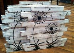 I like the details of this pallet art