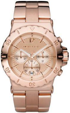 #Michael #Kors Quartz Gold Round Dial Gold Band - Women's Watch #MK5313   girl loves it!   http://amzn.to/HlRK1J