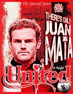 There s only One Juan Mata Red Cotton T Shirt Posting on Wednesday