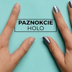 Holographic nails tutorial
