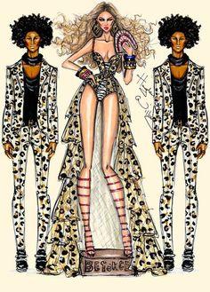 Beyonce & Les Twins