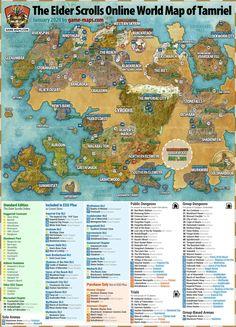 Elder Scrolls Tamriel, Elder Scrolls Map, Elder Scrolls Morrowind, Elder Scrolls Games, Elder Scrolls Skyrim, Dungeons And Dragons Homebrew, D&d Dungeons And Dragons, Elder Scrolls Online Tips, Eso Online