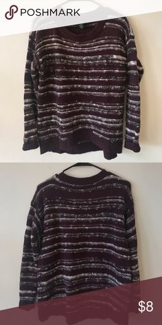 Maroon striped sweater from Calvin Klein Gorgeous maroon 5d661ebcc