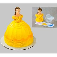 Beauty & the Beast Belle Topper Petite Cake
