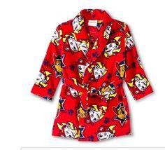 Paw Patrol Baby Boys Fire Marshal Chase Toddler Bathrobe Robe Pajamas Red (2t/3t)