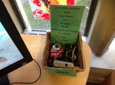 Inviting preschool children to use the cameras at KU St Marys Activity Tables, Activity Ideas, Computer Technology, Digital Technology, Investigation Area, All About Me Preschool, Reception Class, Classroom Organisation, Children Activities
