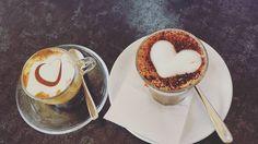 L'unione fa la forza! #itsfriday #caffè #bottegadelcaffè #lajessicacivizia  #socia #me #sara #heart #macchiatosoia #lattedisoia #dersut #pordenone #pausapranzo #instalike #instapic #igers #follow4follow #instafriends #chiacchiere  #novità #progetti #strong ☕