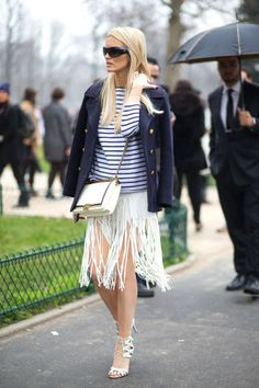 50 ways to style your striped shirt: