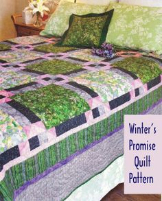 Quilt PATTERN ~ Winter's Promise ~ Quilting Pattern from Magazine