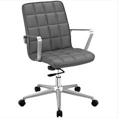Tile Office Chair Gray
