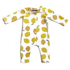 Hey BB slaappakje cq boxpakje 'juicy lemons' - handgemaakt van biologisch katoen. Organic Baby Clothes, Onesies, Rompers, Handmade, Fashion, Moda, Hand Made, Fashion Styles, Romper Clothing