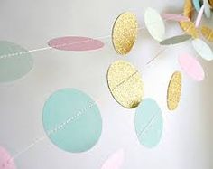 Image result for mint green pink gold baby party