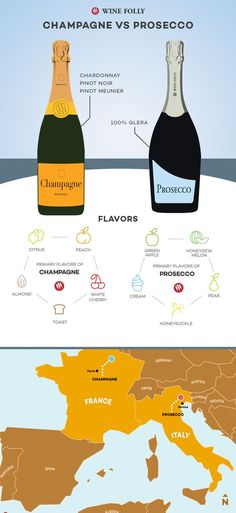 Q: What are the real differences between Champagne vs. Prosecco and why does one cost so much more than the other? The quick answer is Champagne is... *** Be sure to check out this helpful article. #WineCrafts