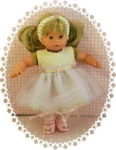 Gotz Maxy Muffin Tutu Dress Ballerina Outfit