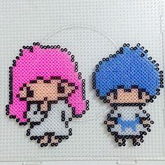 The Little Twin Stars hama beads by longdiioeshop