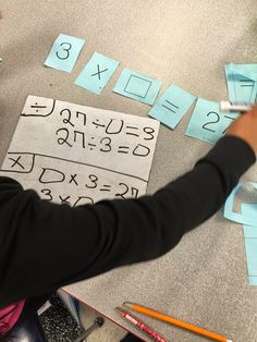 Unknown numbers using multiplication and division in 3rd grade Math! 3.5D