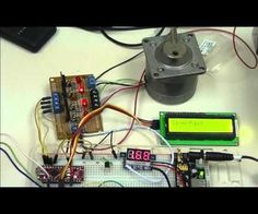 Here and the associated links we explore Arduino controlling stepper motors.