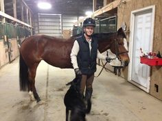 A Core Training Routine for Horse and Rider