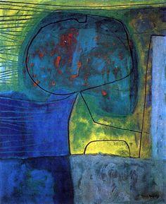 William Baziotes: el nexo entre dos movimientos de vanguardia. #arte #pintura #vanguardia #baziotes