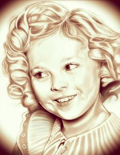 (2014) Shirley Temple Graphite Drawing