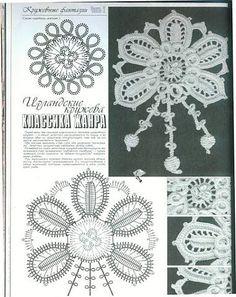 Фотоальбом схемы мотивов для ирландского кружева группы Вяжем для всей семьи в Одноклассниках