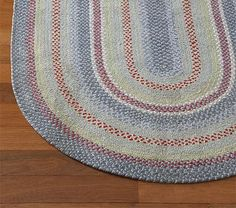 Chenille Braided Rug #PotteryBarnKids